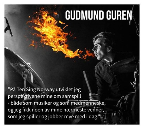 Band Ten Sing Norway Gudmund